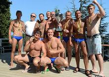 Сборная России по мини водному поло одержала победу на Кубке Лебедева