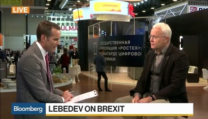 Lebedev on U.K. Election, Brexit, Fake News