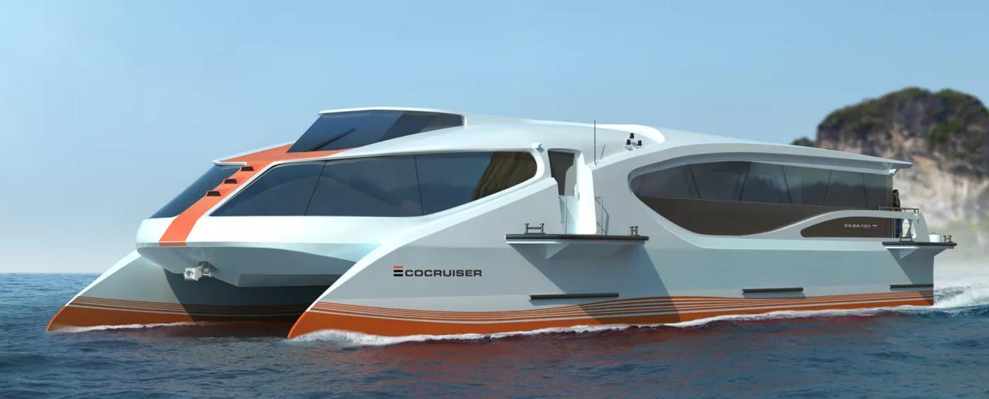 Ecocruiser Скоростной катамаран класса река-море / НПК 'Морсвязьавтоматика'