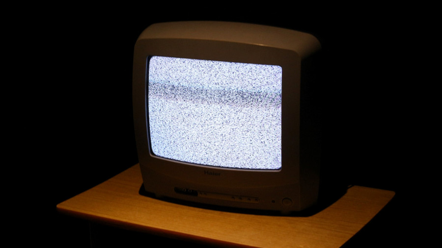 Телевизор. Помехи.